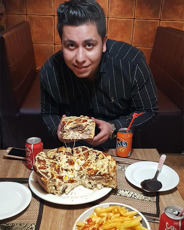 غول پیتزا آروما