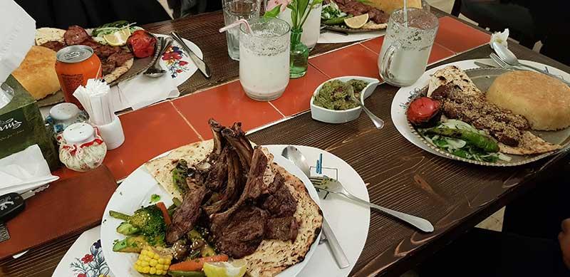 رستوران گیلانه فردوسی