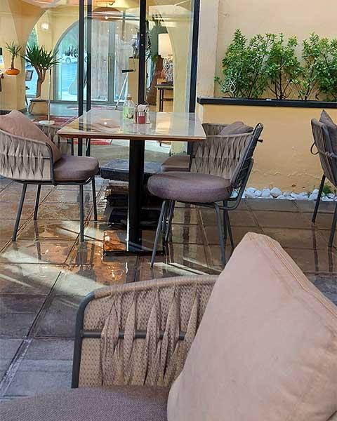 رستوران فضای باز ولنجک