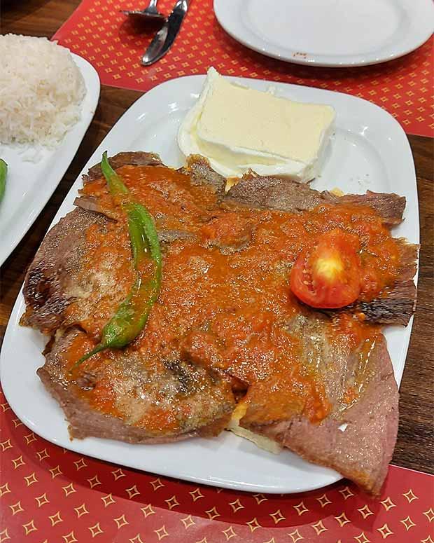 رستوران بورسا کباب پاسداران