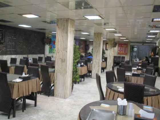 لیست قیمت غذاهای رستوران جوان
