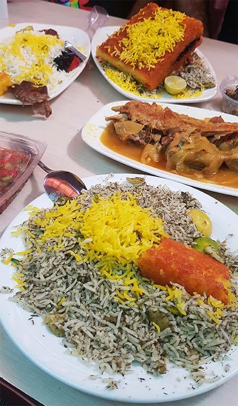 رستوران مسلم سفارش