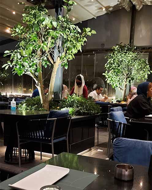 منو رستوران ادیشه اوپال