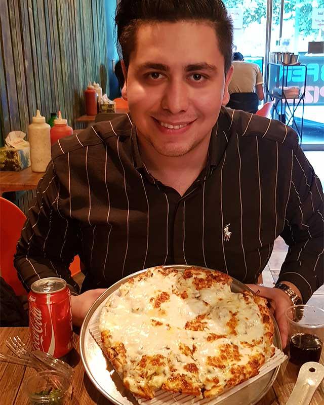 پیتزا سه فر شهرک غرب