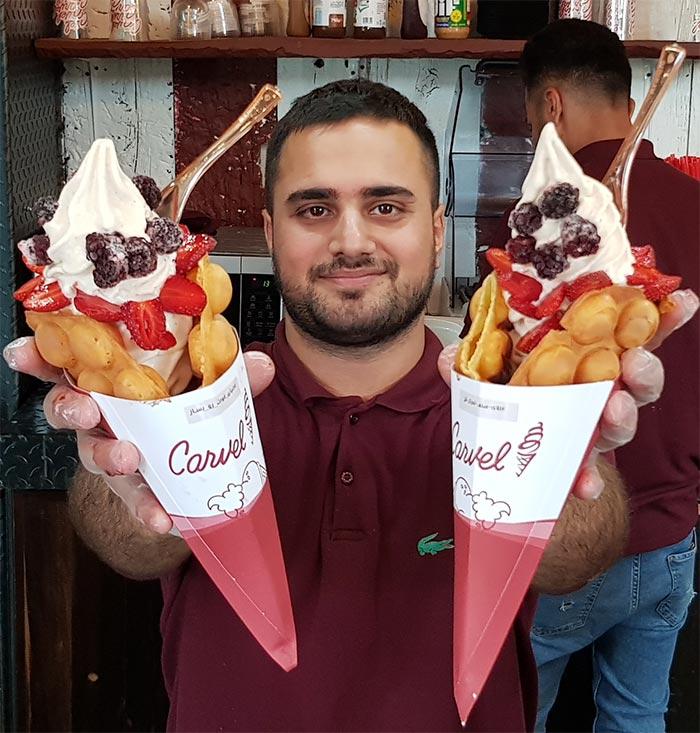 شعب بستنی کارول