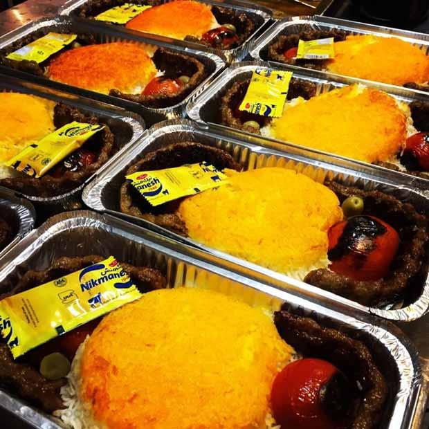 بهترین نان داغ کباب داغ تهران