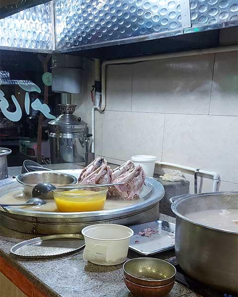 کله پاچه طباخی آهو