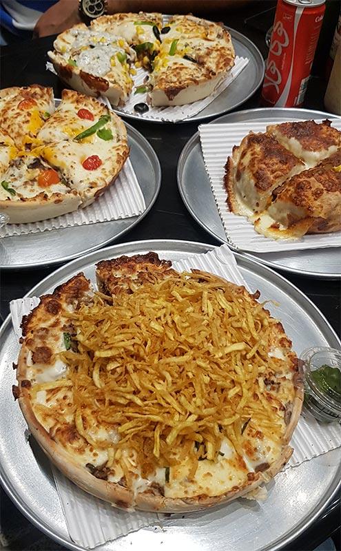 پیتزا سه فر کاشانی