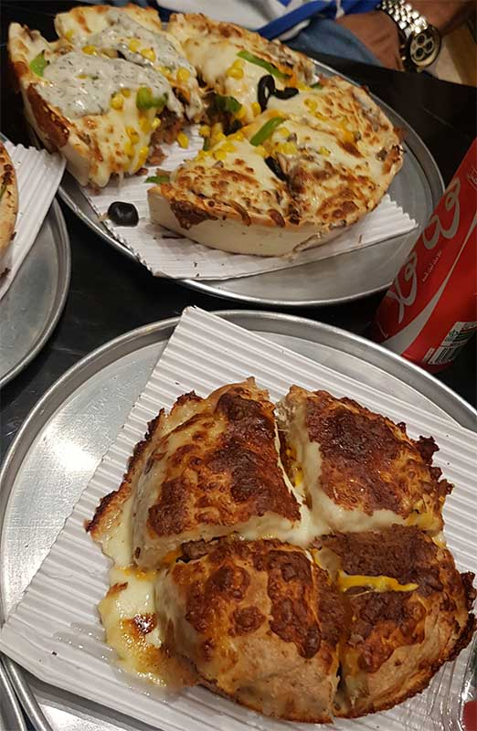 پيتزا سه فر بلوار اباذر