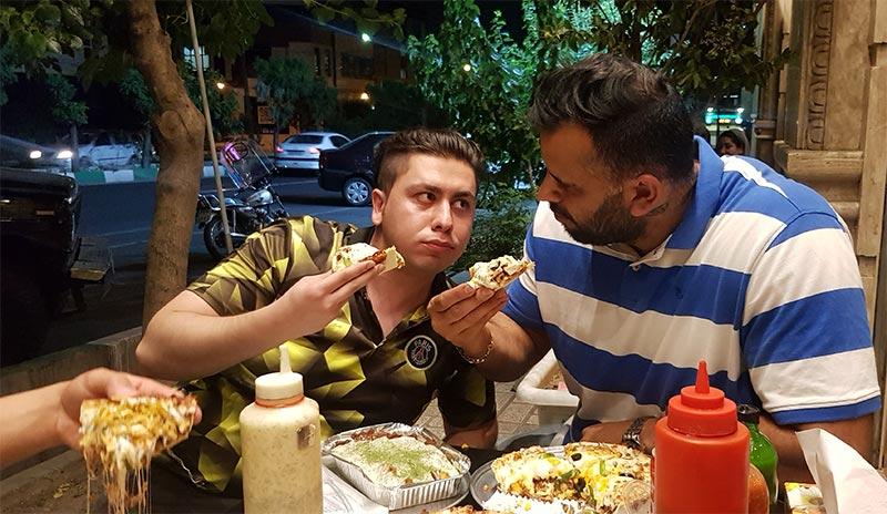پیتزا سه فر سعادت آباد