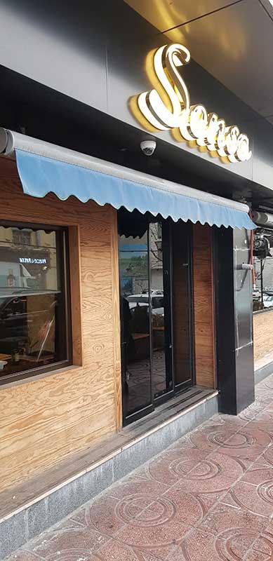 منو رستوران سنسو تهرانپارس