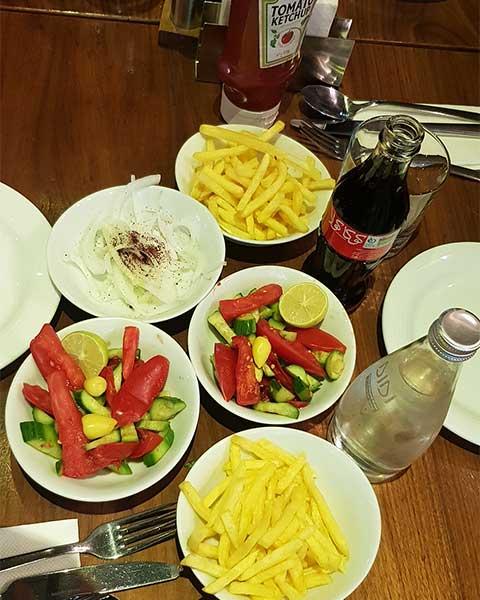 رستوران ترکیه ای در سعادت آباد