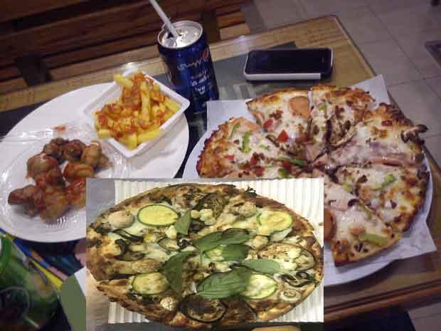 تهیه پیتزا