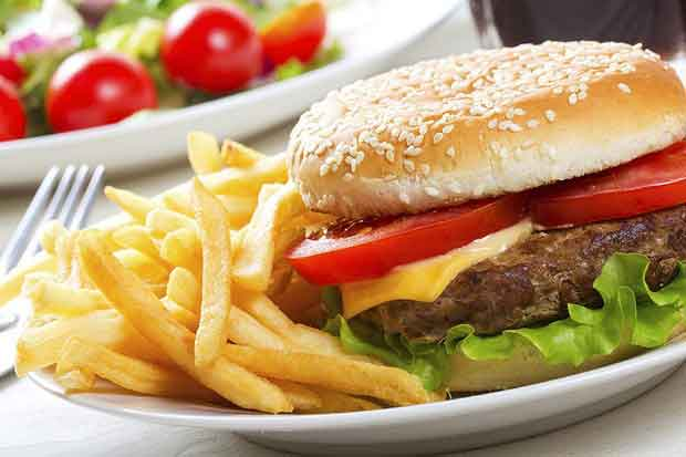طرز تهیه مخلفات ساندویچ همبرگر