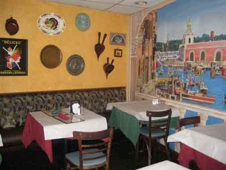 دکوراسیون رستوران ایتالیایی