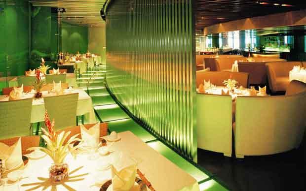 نورپردازی رستوران