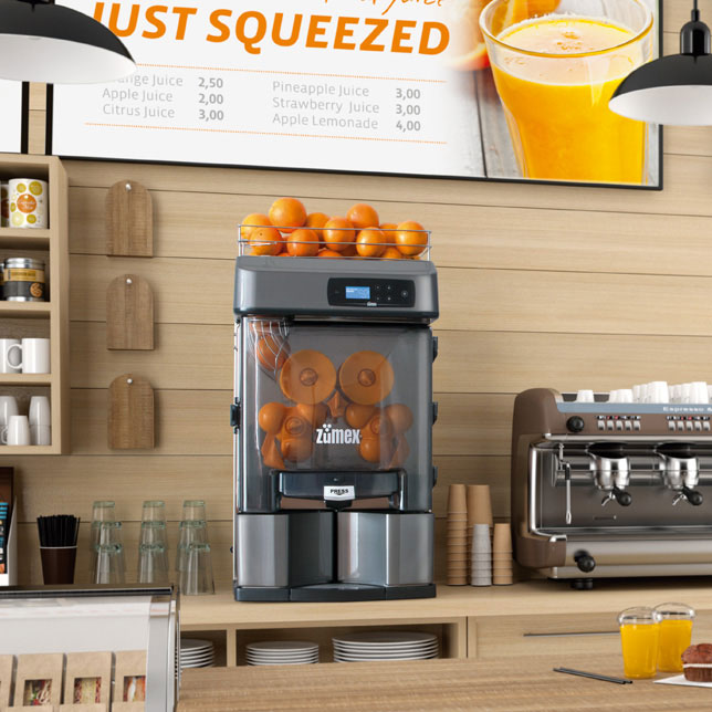 آب پرتقال گیری تمام اتوماتیک زومکس اسپانیا Versatile