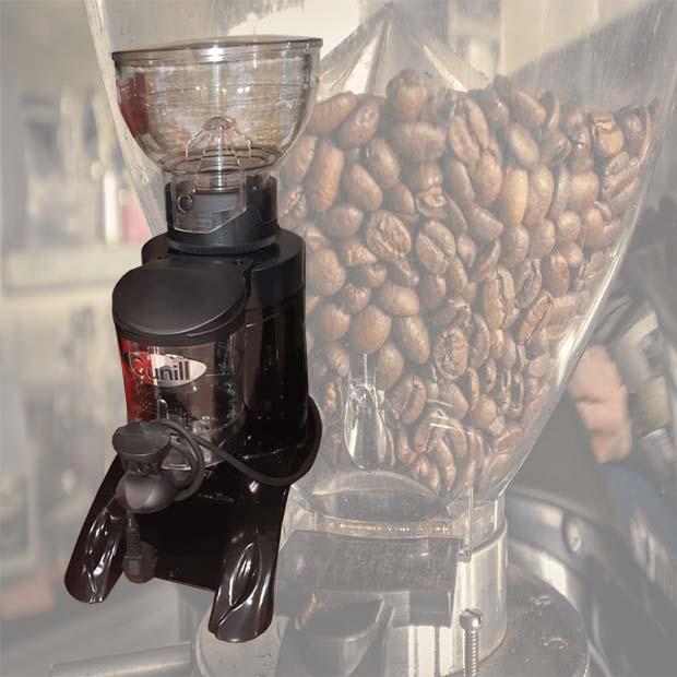 آسیاب قهوه صنعتی مخزن دار مارک کونیل