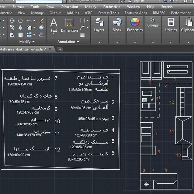 اصول طراحی آشپزخانه صنعتی با ضوابط استاندارد