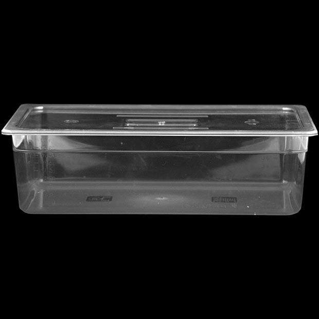 بن ماری پلی کربنات شفاف پلاستیکی سایز یک یکم