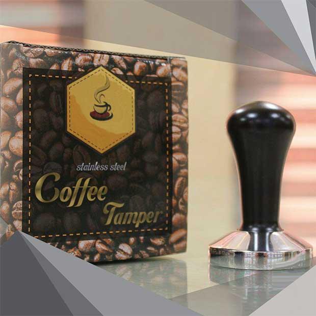 تامپر قهوه استیل سایز 58 مشکی