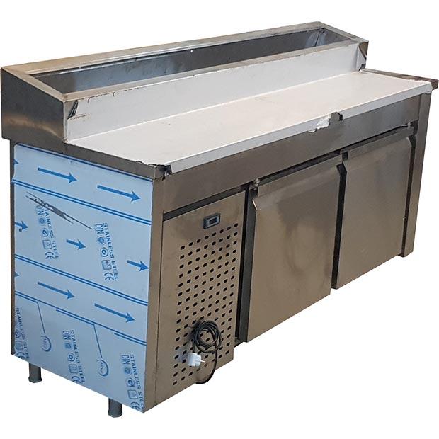 تاپینگ پیتزا زیر یخچال طول 190 سانتیمتر ده لگن