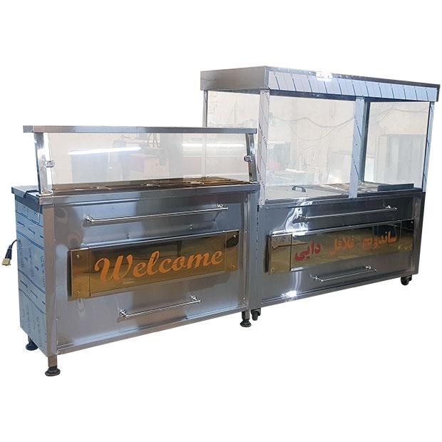 تجهیزات ساندویچ فلافل دایی در تهران شهر ری