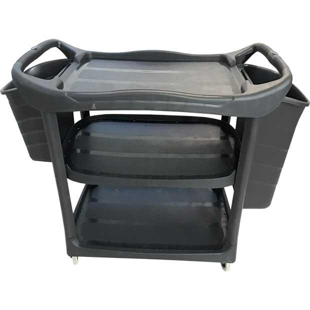 ترولی پلاستیکی حمل ظروف کثیف طرح کارلایز