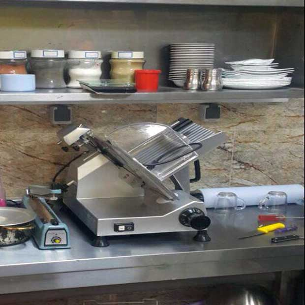 دستگاه برش کالباس فست فود ایرانی