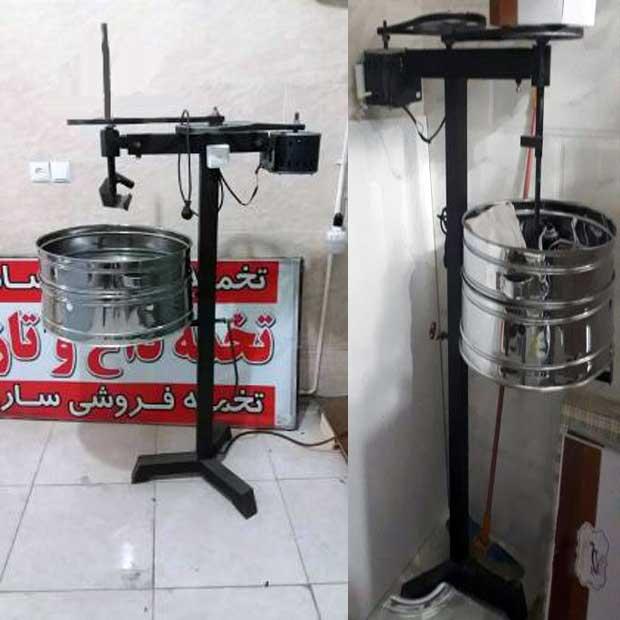 دستگاه تخمه فروشی داغ و تازه