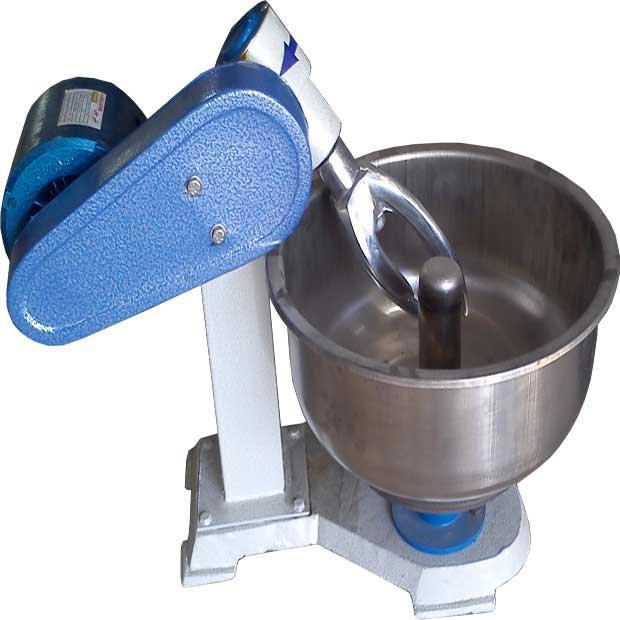 دستگاه خمیر گیر هشت کیلوگرم با دیگ و پارو استیل