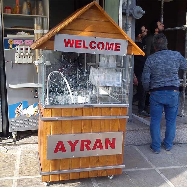 دستگاه دوغ ساز صنعتی کلبه چوبی ساخت ترکیه
