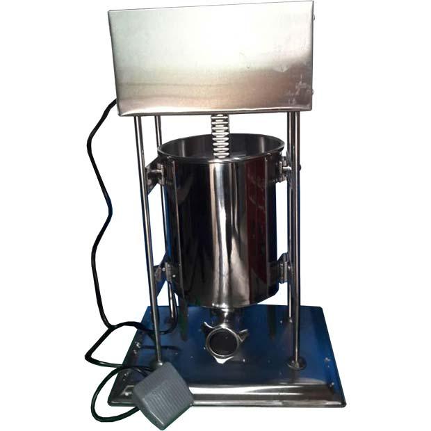 دستگاه سوسیس پرکن صنعتی برقی ده لیتری