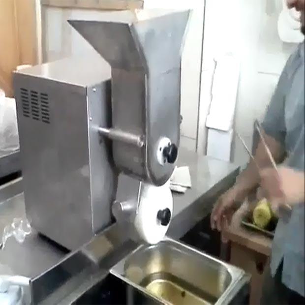 دستگاه فلافل ساز رومیزی اتوماتیک قالب پنج تایی