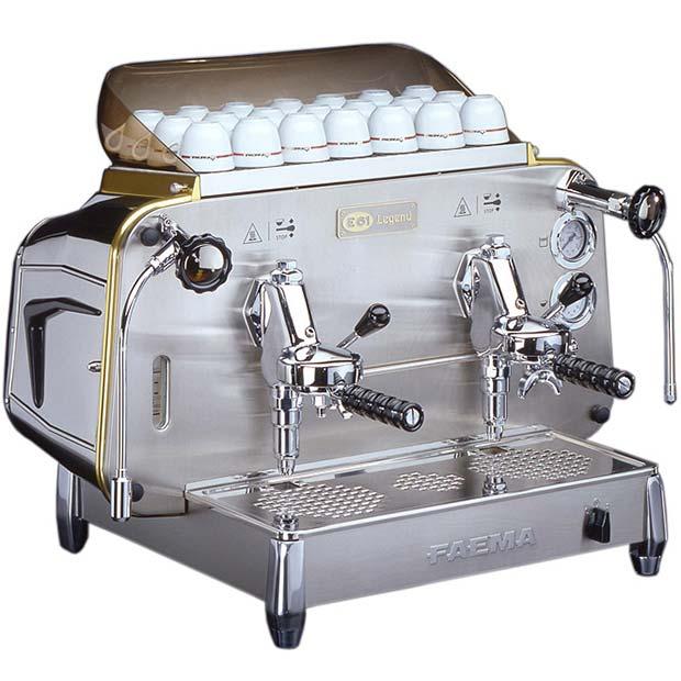 دستگاه قهوه ساز کافی شاپ دو گروپ ایتالیایی Faema E61