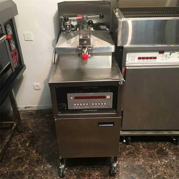 دستگاه هنی پنی سرخ کن کنتاکی سوخاری اتوماتیک
