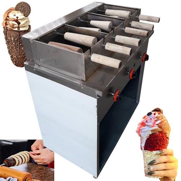 دستگاه چیمنی پخت نان و کیک بستنی
