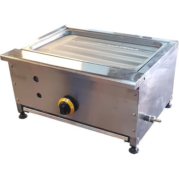 دستگاه گریل رومیزی با صفحه چدنی استیک تخت