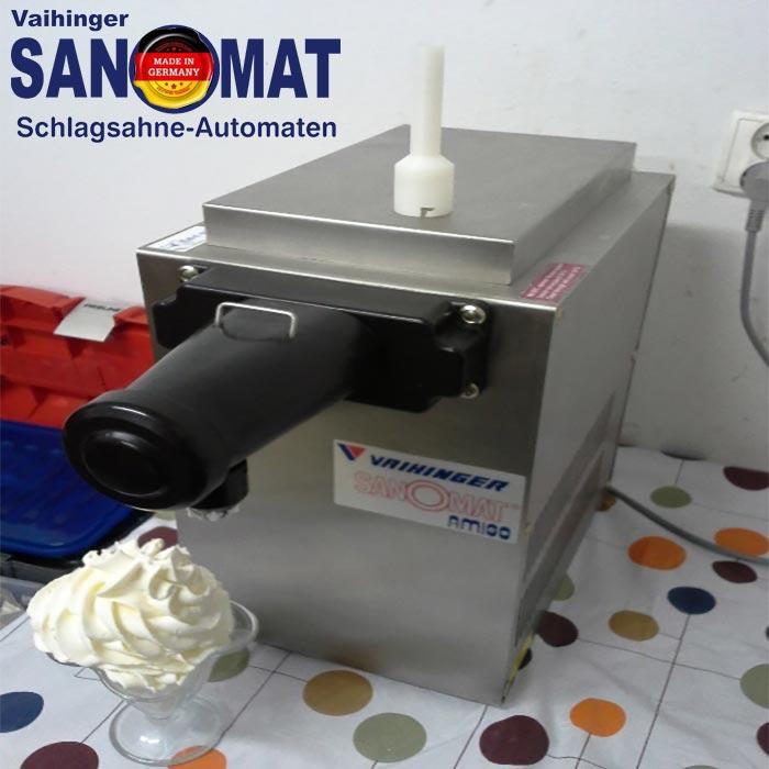 دستگاه گل خامه زن شصت لیتری مدل آمیگو سانومات آلمان