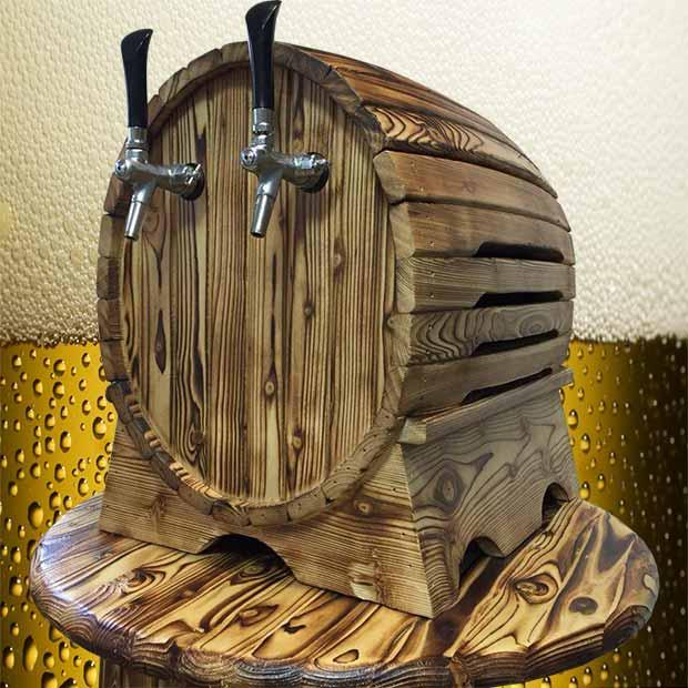 دلستر بشکه ای چوبی مونتاژ ایرانی بهنوش