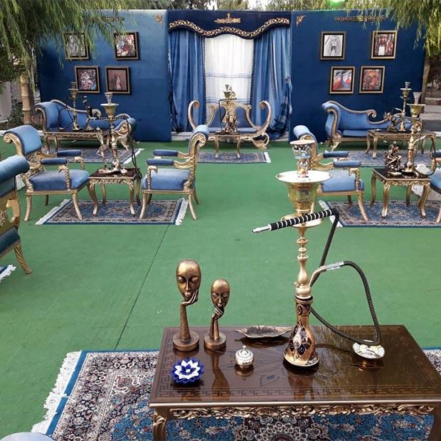 دکوراسیون مراکشی دیزاین تالار عروسی