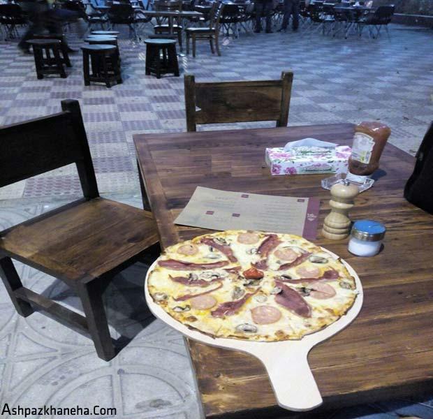 راه اندازی فست فود پیتزا فروشی