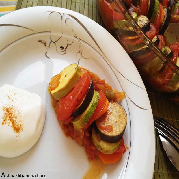 رتتویی خوراک فرانسوی