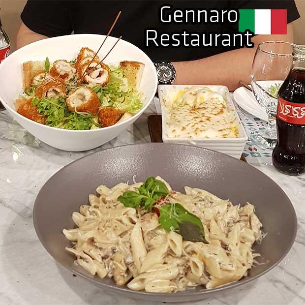 رستوران ایتالیایی جنارو تهران مرزداران