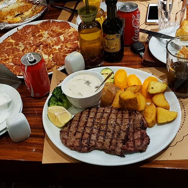 رستوران ایتالیایی سنسو در بلوار فردوس تهران