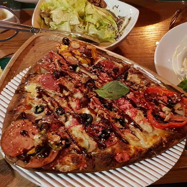رستوران ایتالیایی سه گوش گریل در شرق تهران تهرانپارس