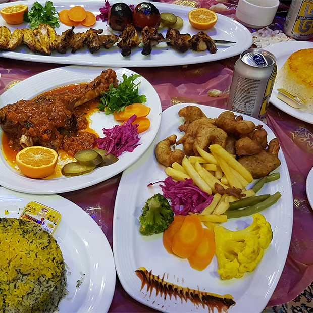 رستوران سنتی اریکه طهران در فشم تهران