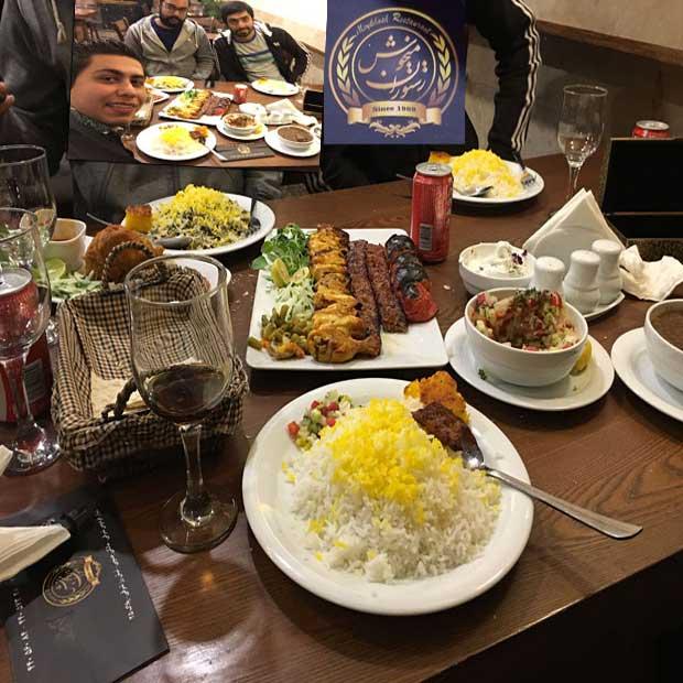رستوران میخوش تهران بلوار فردوس
