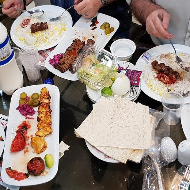 رستوران چلو کباب اسلامی نواب تهران