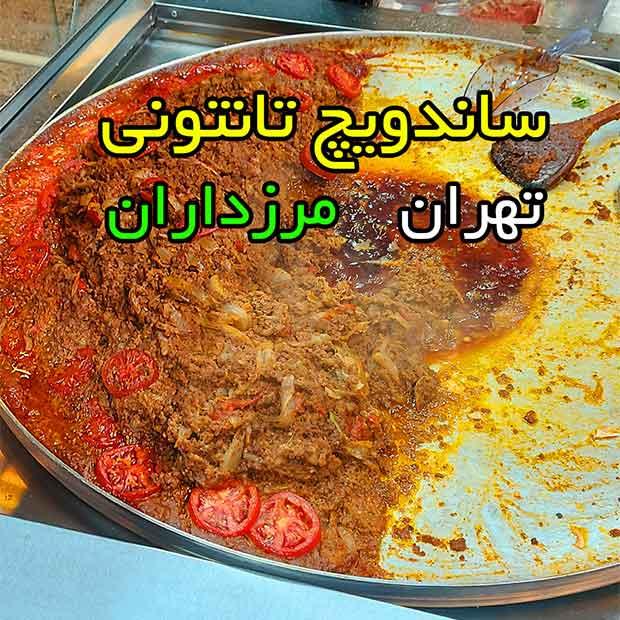 ساندویچی پاندا در مرزداران تهران